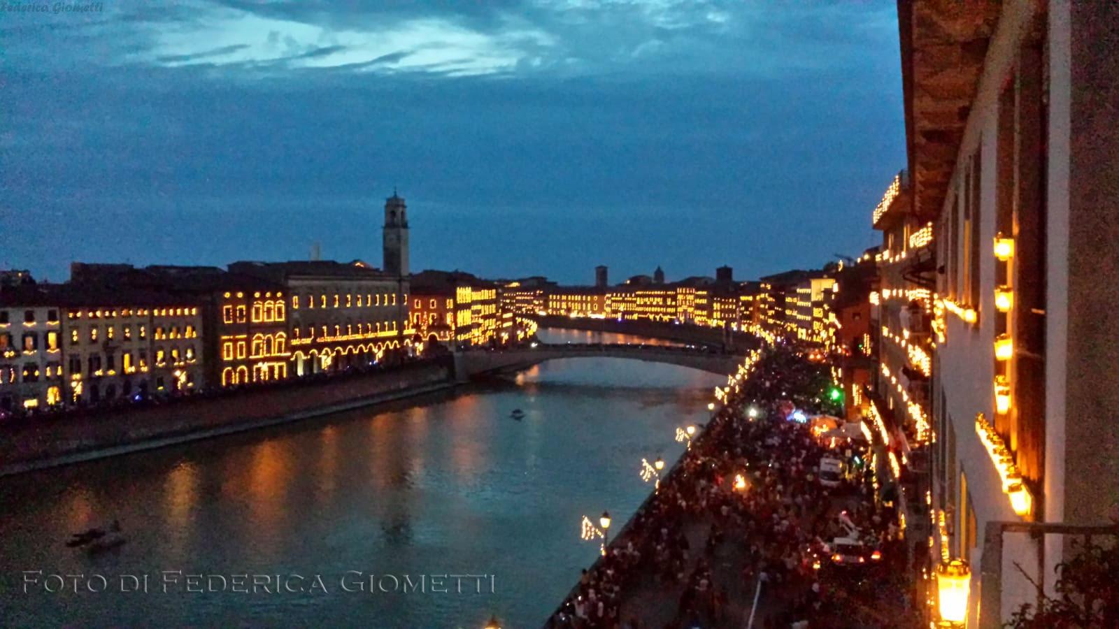 Pisa, La Luminara di San Ranieri di ogni 16 Giugno